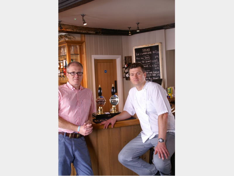 The New Inn Cerne Abbas – Good Pub Guide Dorset dining pub of the year 2014