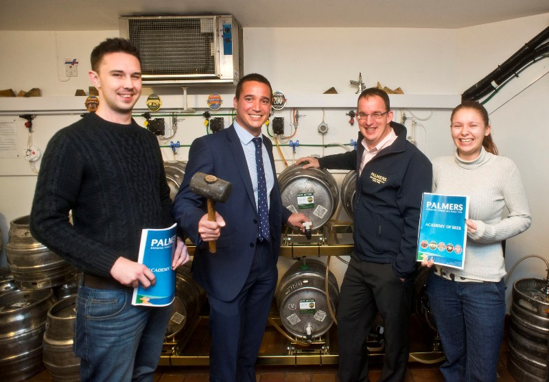 Palmers Brewery Launches Academy of Beer