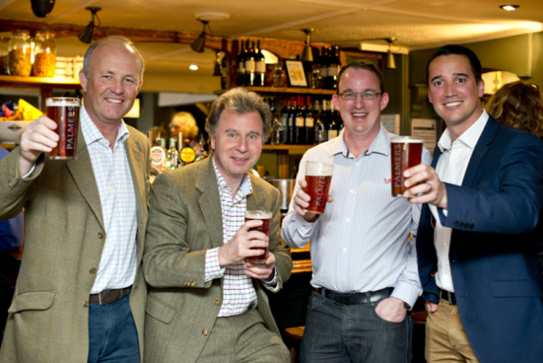 Palmers Declare MP a 'beer champion'