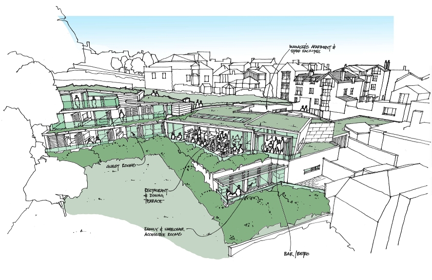 Palmers present final Three Cups plans to Lyme Regis town council