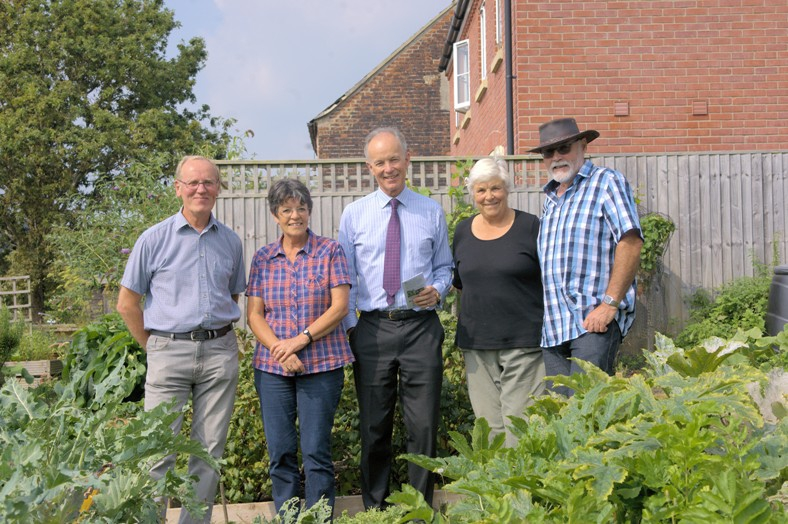Palmers Brewery Fund Supports Community Orchard