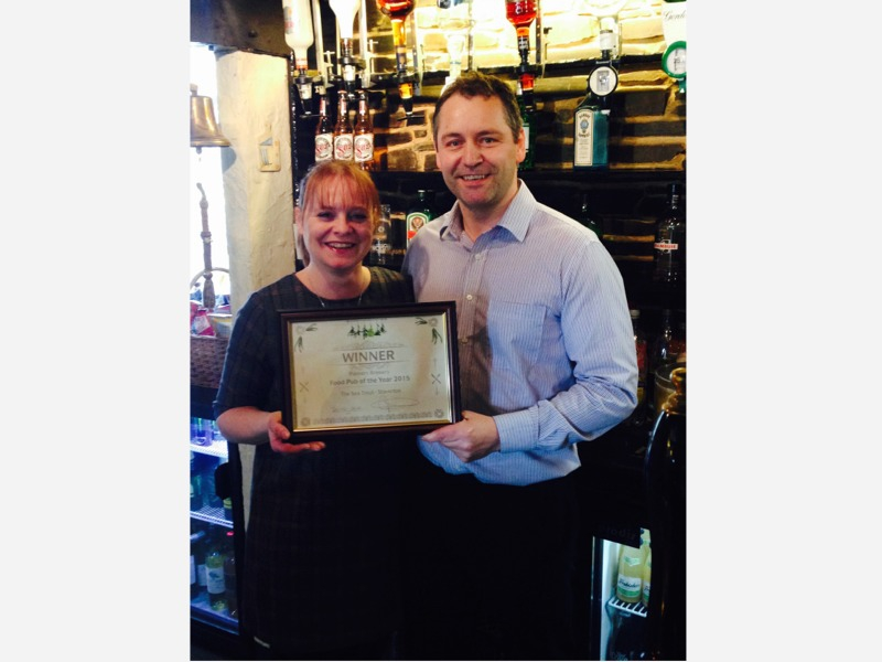 Palmers Brewery Food Pub of the Year 2015