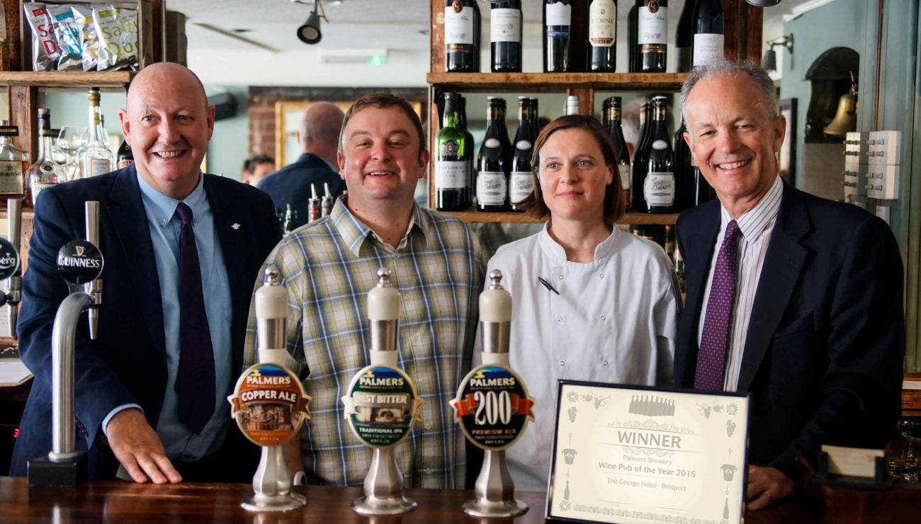 Palmers Brewery Wine Pub of the Year 2015