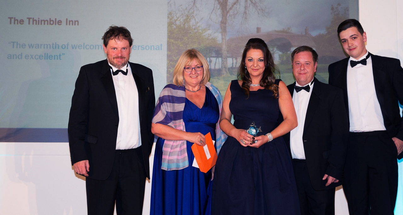 Thimble Inn wins Bronze at Tourism Pub Awards 2015