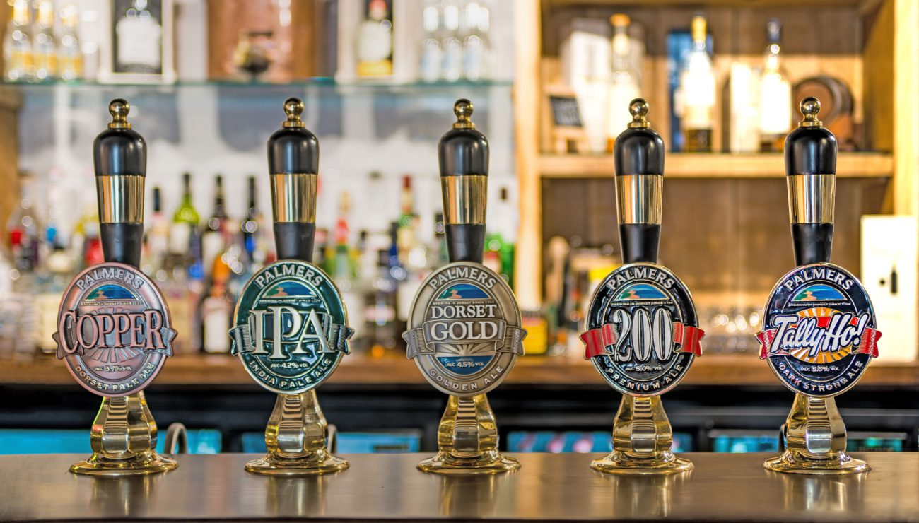 Our five fine ales.