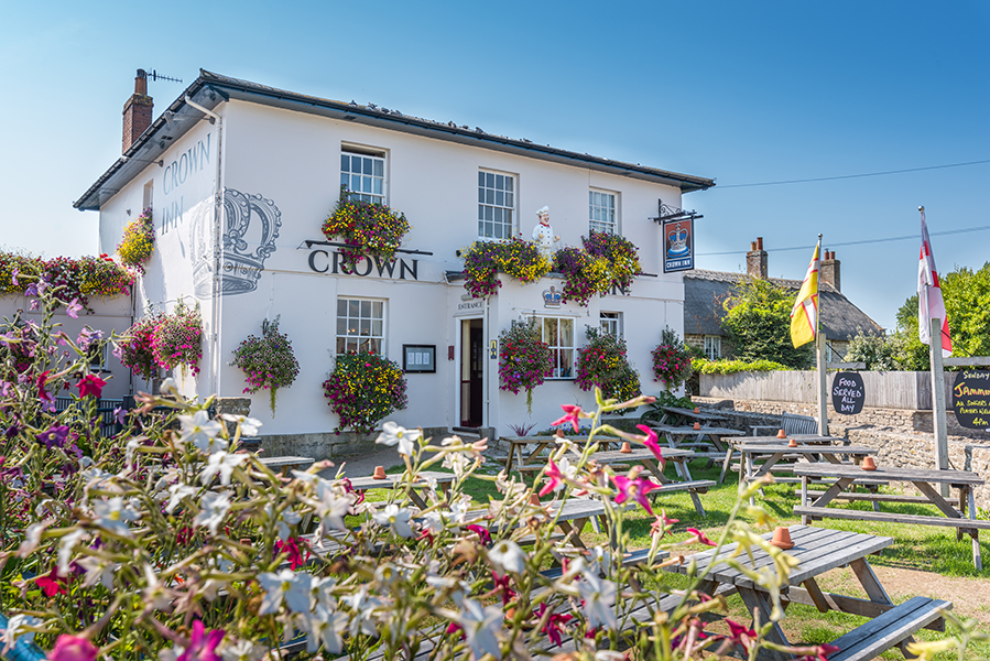 The Crown Inn, Bridport. Run a pub in South West England.