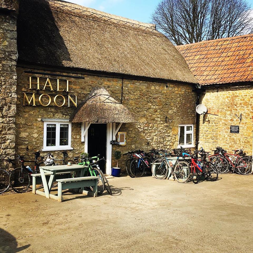 Half Moon pub Melplash