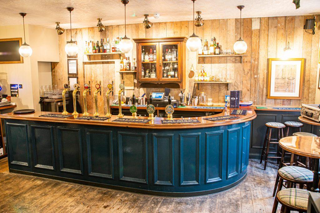 Ship Inn Lyme Regis refurbished bar