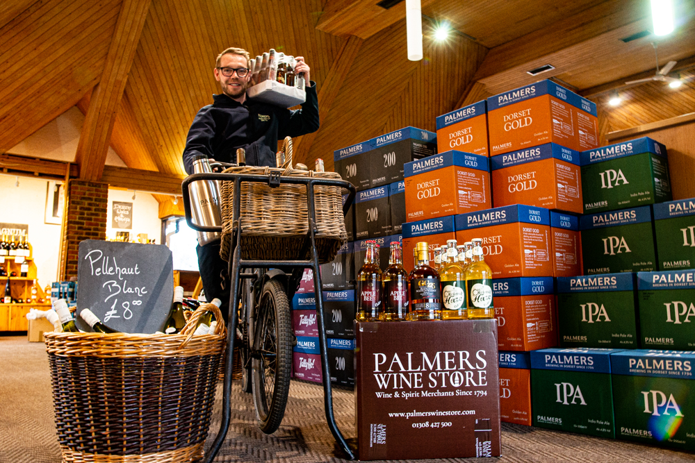 How Palmers Wine Store Has Adapted Over the last 12 months