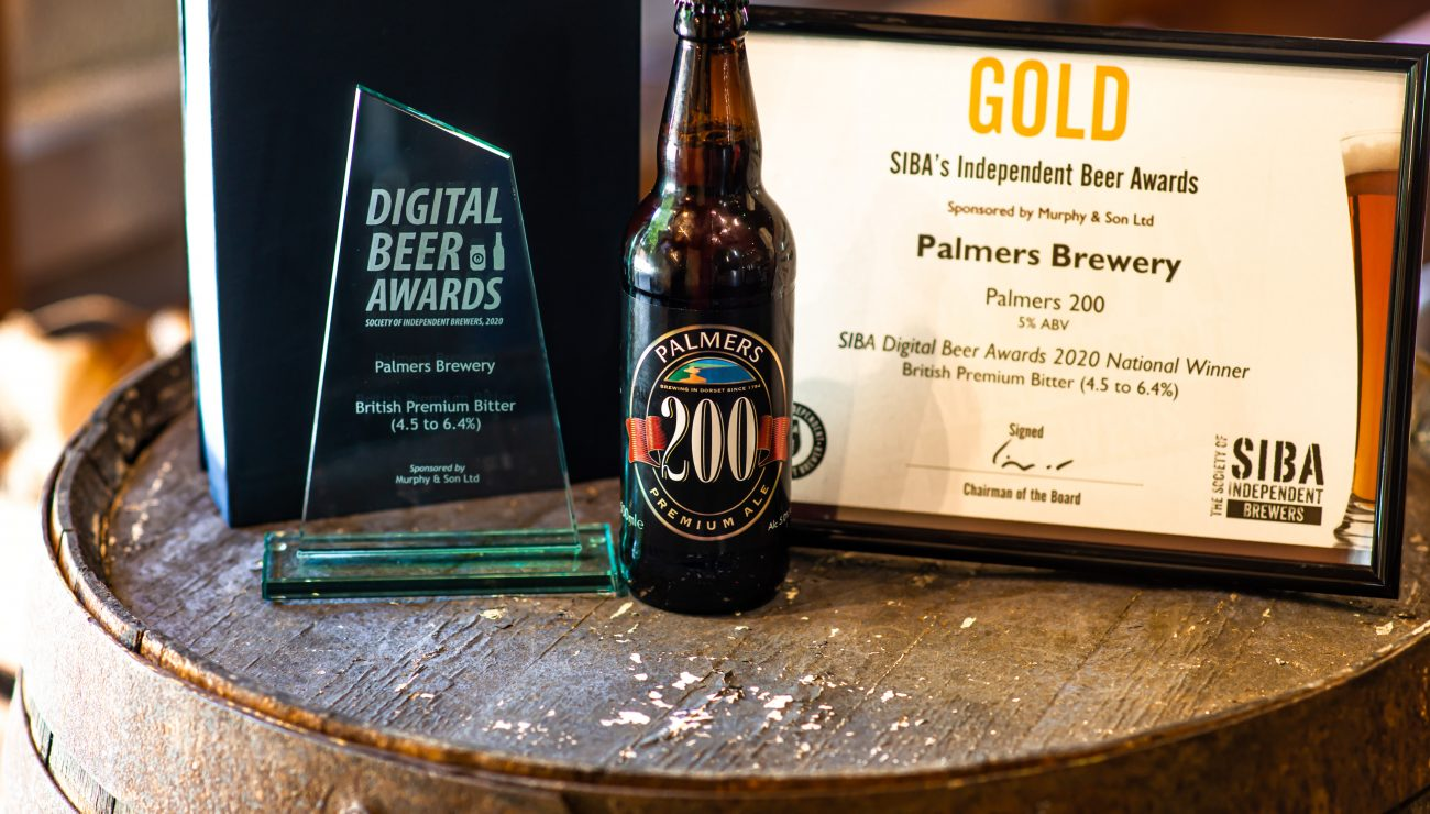 Palmers bottled ales win national recognition in S.I.B.A awards